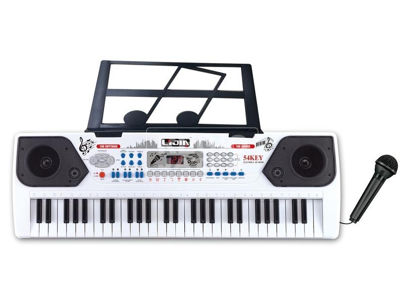 Szintetizátor - 54 billentyűs, mikrofonnal