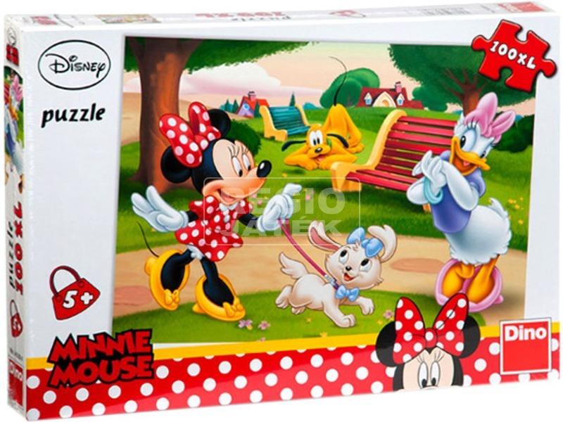 Minnie egér 100 darabos XL puzzle