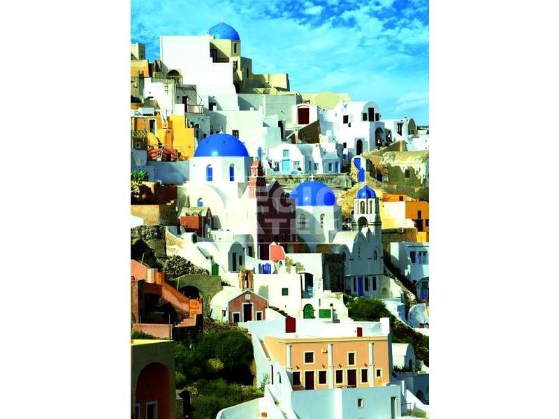 Santorini 1000 darabos puzzle