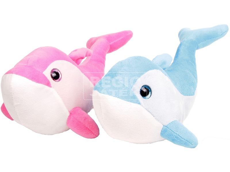 Plüss fóka és delfin 35 cm