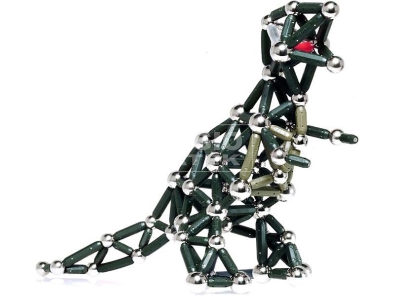 Dinoszaurusz mágneses fém építőjáték