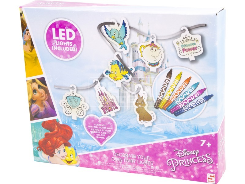 Disney hercegnők LED füzér készlet