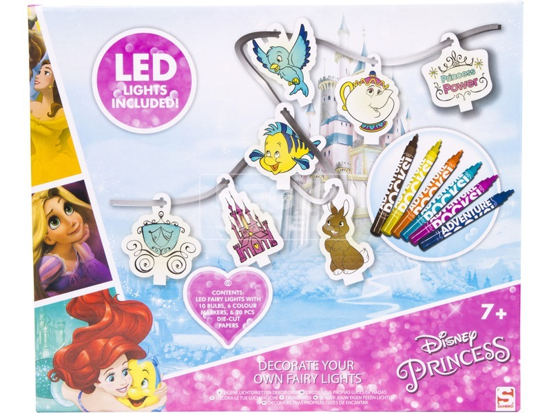 kép nagyítása Disney hercegnők LED füzér készlet