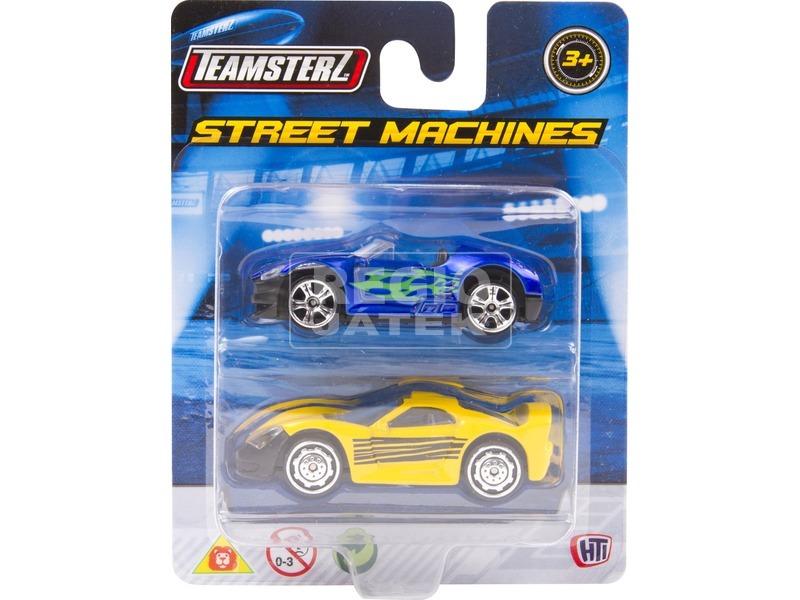 kép nagyítása Teamsterz autó 2 darabos készlet - 7 cm, többféle