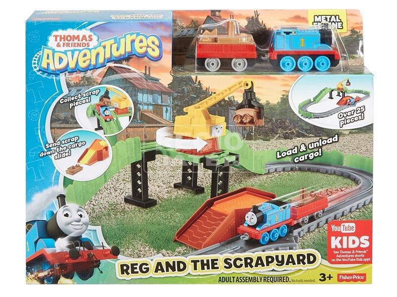 Thomas Adventures Reg a szeméttelepen pálya