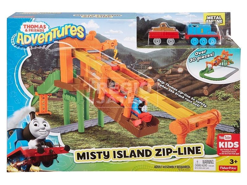 Thomas Adventures Ködfátyol-sziget kötélpálya