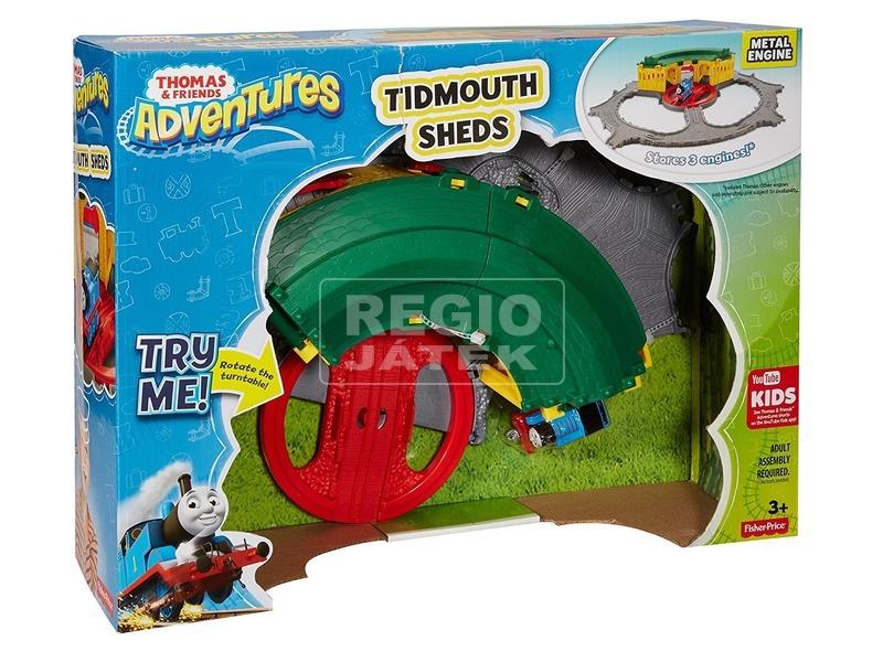Thomas Adventures Tidmouth fűtőház