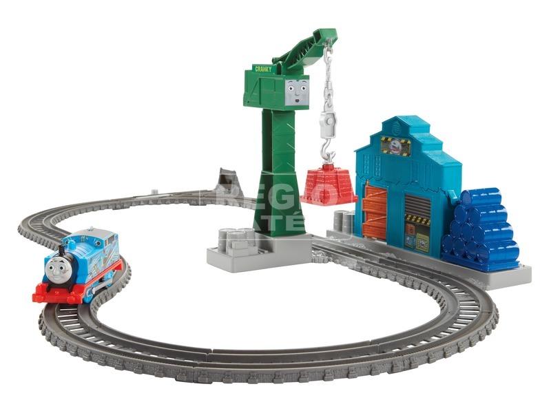 Thomas Trackmaster építkezés pálya