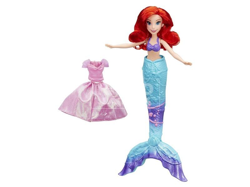 kép nagyítása Disney hercegnők Ariel uszonyos baba - 28 cm