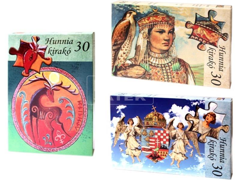 Hunnia puzzle - többféle