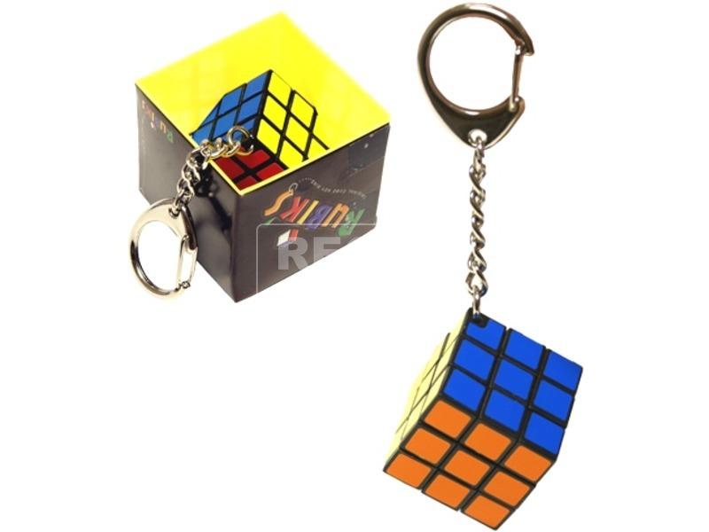 Mini Rubik kocka kulcstartó