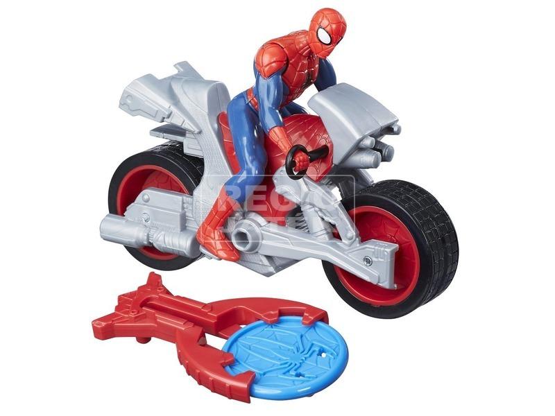 kép nagyítása Pókember járgány fegyverrel - 14 cm, többféle