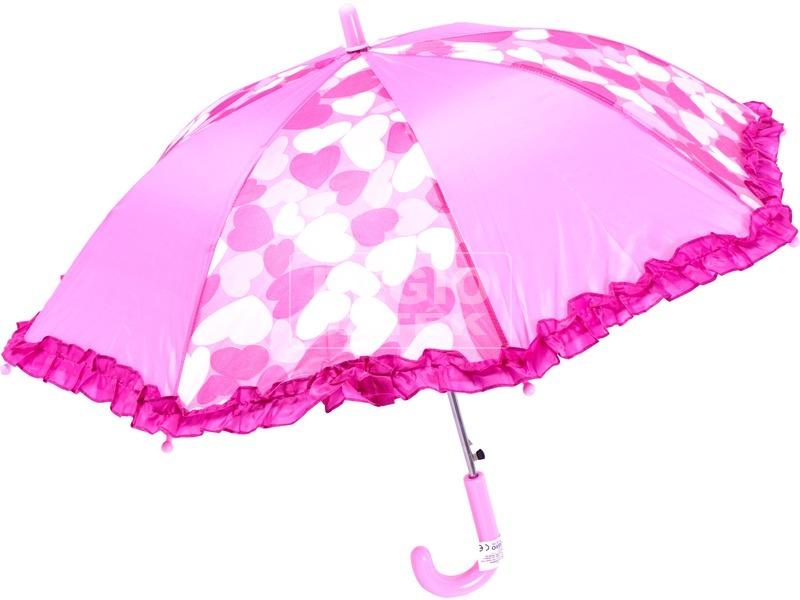Szívecskés esernyő - 55 cm