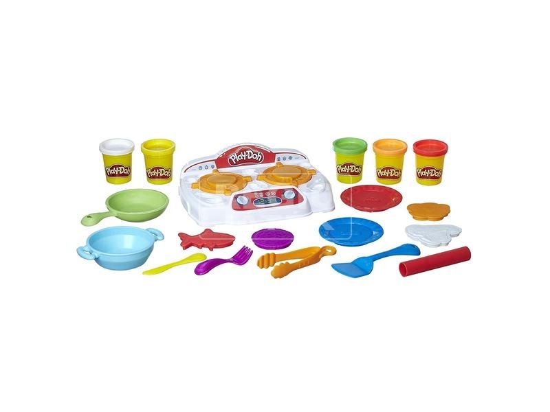 kép nagyítása Play-Doh sistergő tűzhely gyurmakészlet