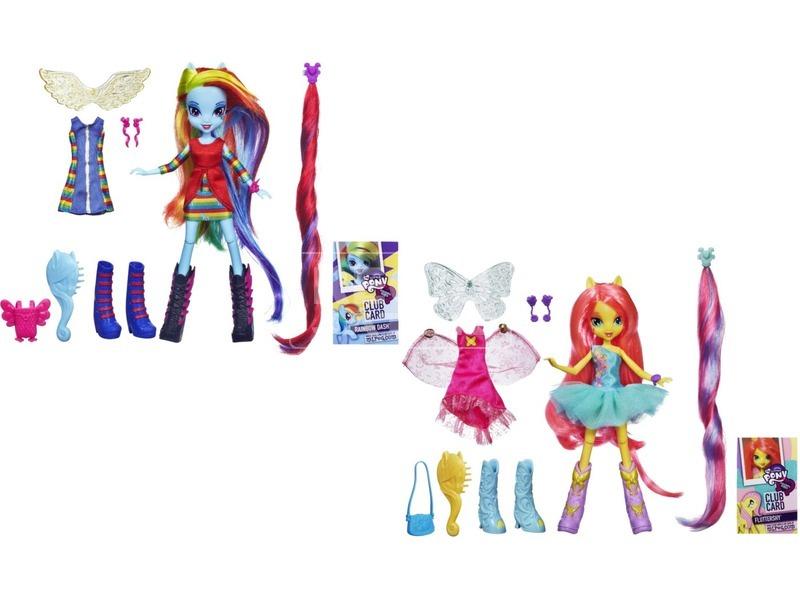 Én kicsi pónim: Equestria Girls baba kiegészítőkkel - többféle