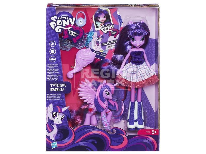 Én kicsi pónim: Equestria Girls baba pónival - többféle