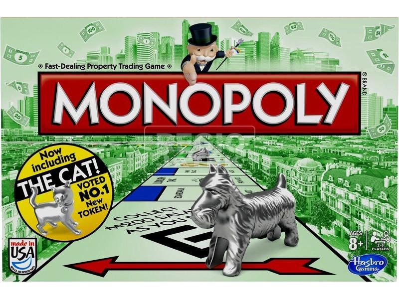 Monopoly társasjáték új figurákkal