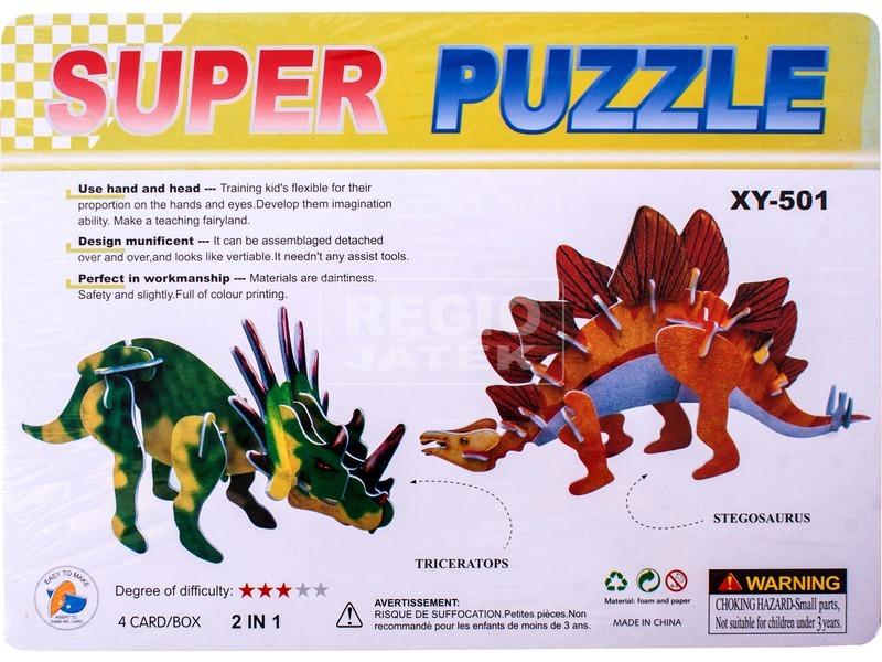 Összerakható dínók 3D puzzle