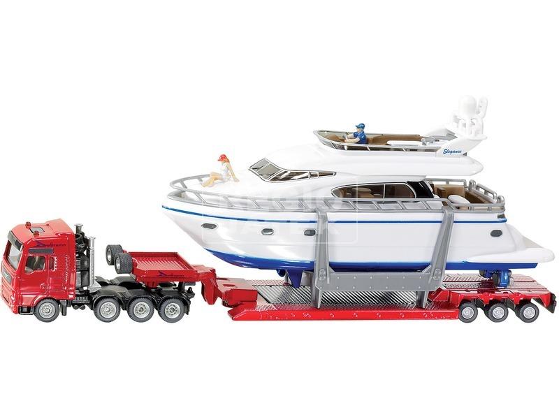 kép nagyítása Siku: MAN kamion motoros yacht-tal 1:87