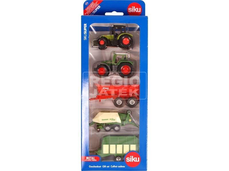 Siku: Mezőgazdasági munkagép 4 darabos készlet