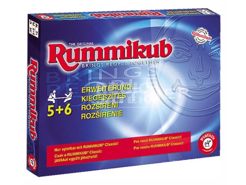 Rummikub társasjáték kiegészítő 5-6 fő
