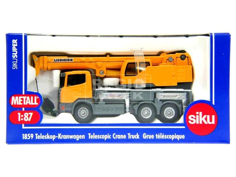 Siku: Scania daruskocsi Liebherr daruval 1:87