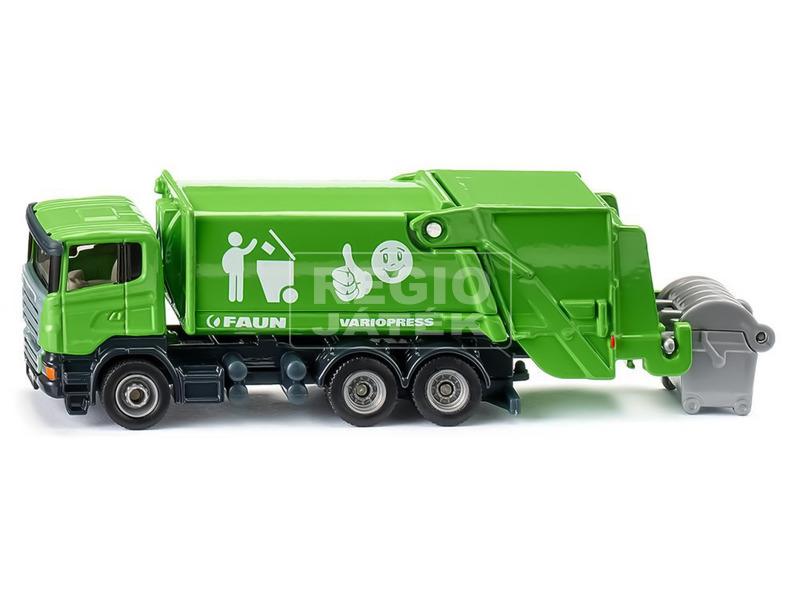 kép nagyítása Siku: Scania kukásautó 1:87