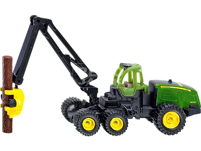 Siku: John Deere fakitermelő traktor 1:87