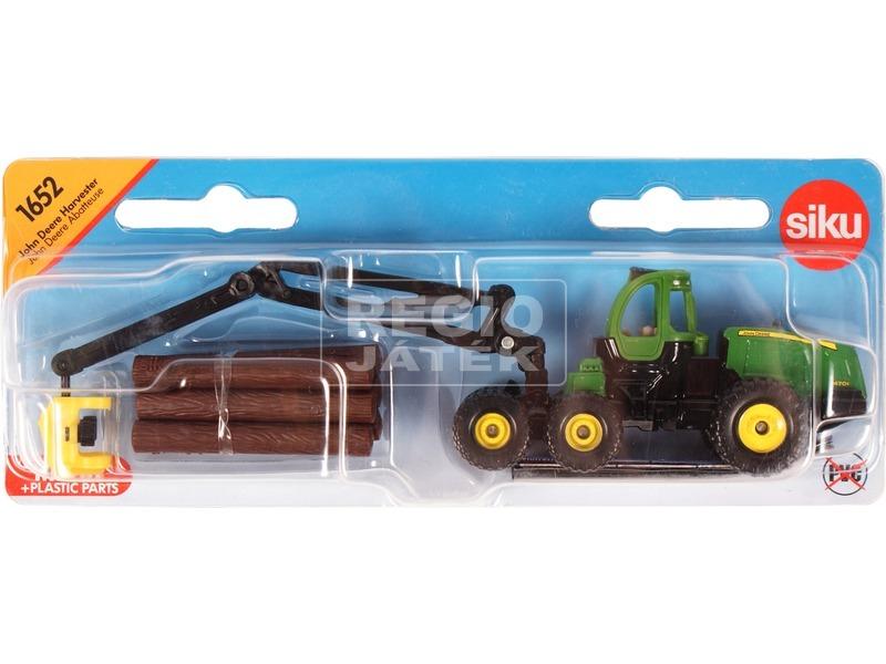 kép nagyítása Siku: John Deere fakitermelő traktor 1:87