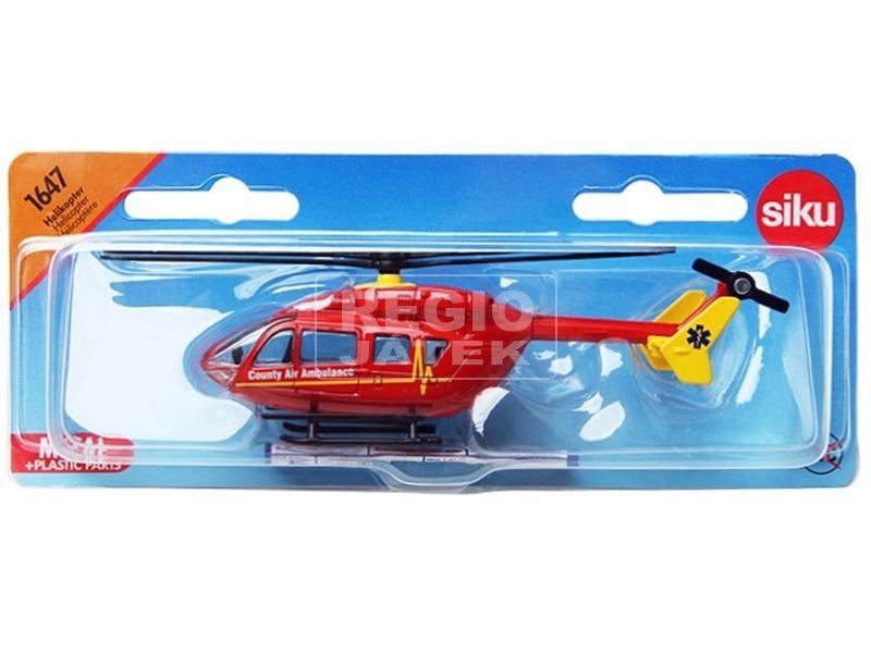 SIKU Mentő helikopter 1:87 - 1647