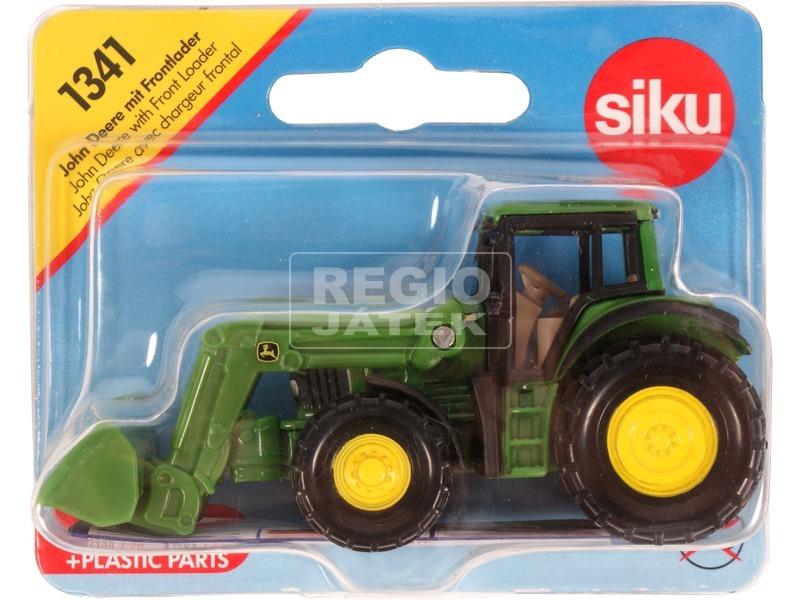 kép nagyítása Siku: John Deere markolós traktor 1:55