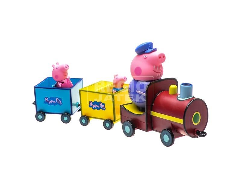 kép nagyítása Peppa malac nagypapa vonat játékkészlet