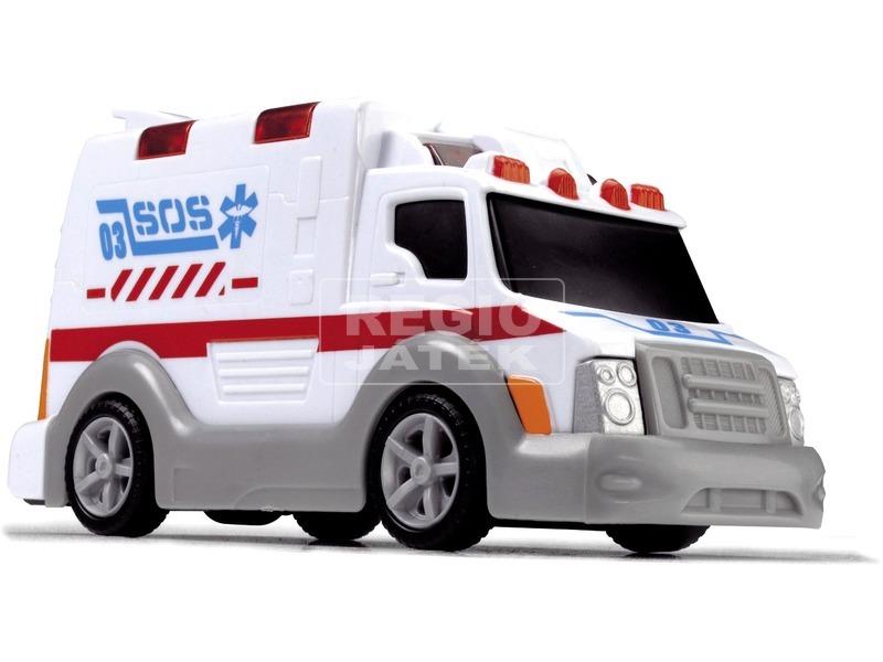 Dickie mentőautó - 15 cm