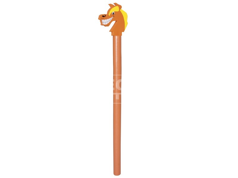 Állatfejes polifoam rúd - 140 cm, többféle