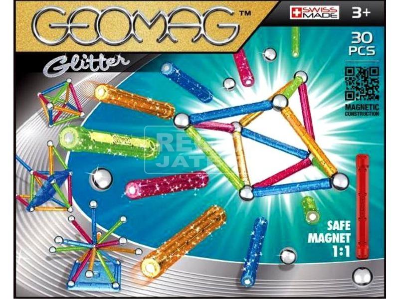 Geomag Glitter Color 30 darabos készlet