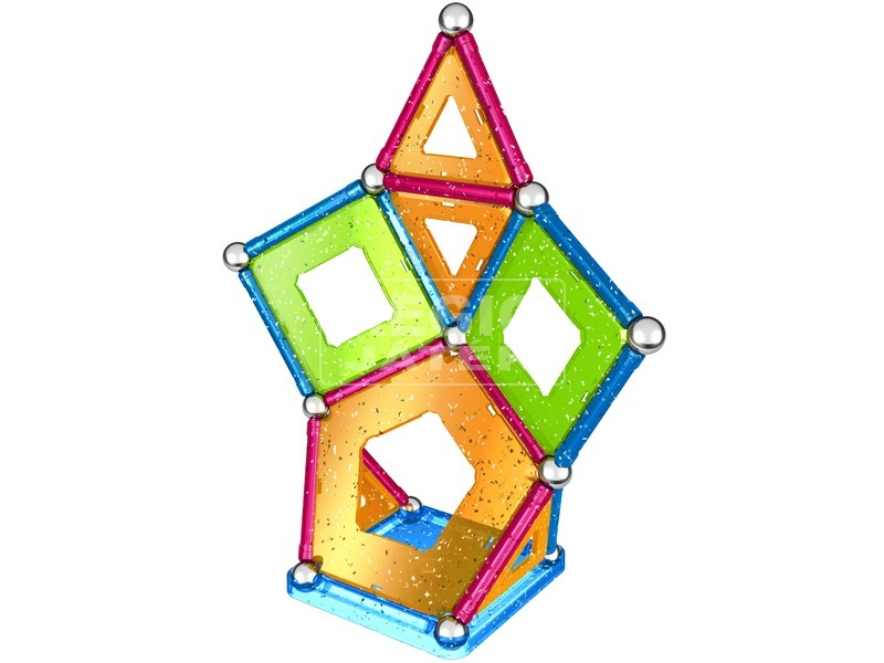 kép nagyítása Geomag Glitter Panels 44 darabos készlet
