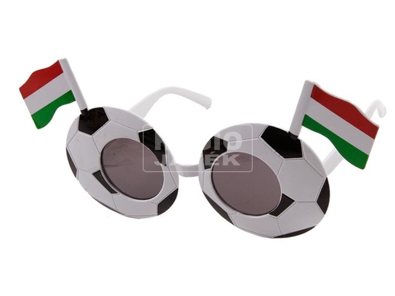 Focilabda mintás party szemüveg