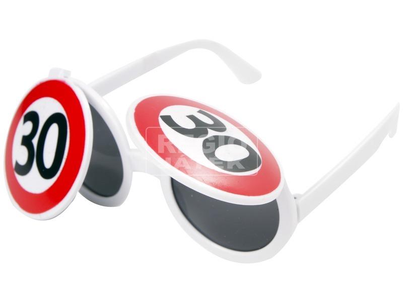 Évek party szemüveg - univerzális méret, többféle