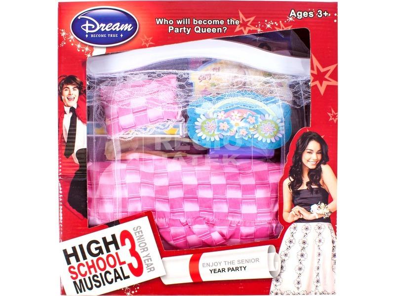 High School Musical 3 Zenélő és világító babaágy
