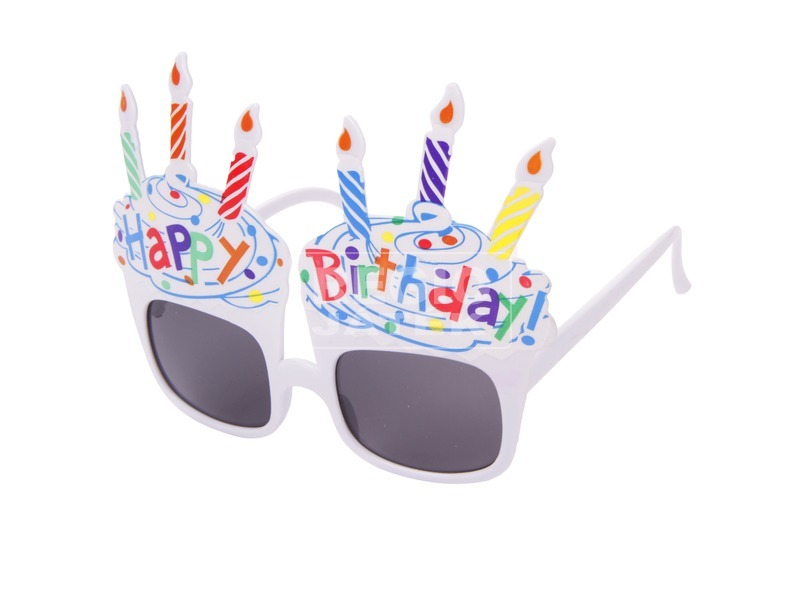 Happy Birthday szemüveg - univerzális méret