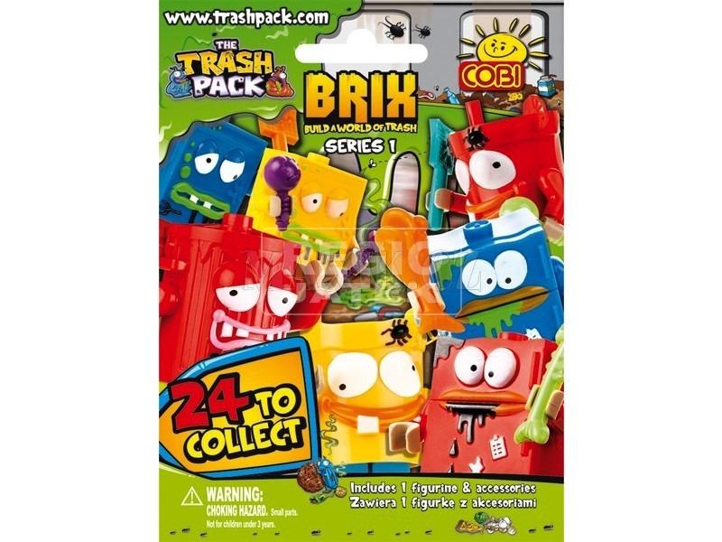Mini figurák TRASH PACK gyűjt. építőjáték COBI