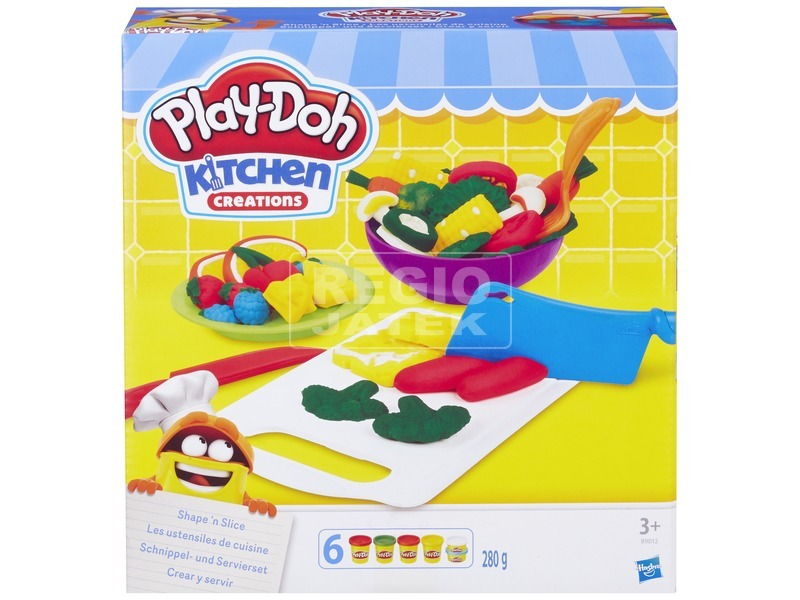Play-Doh szeletelő gyurmakészlet