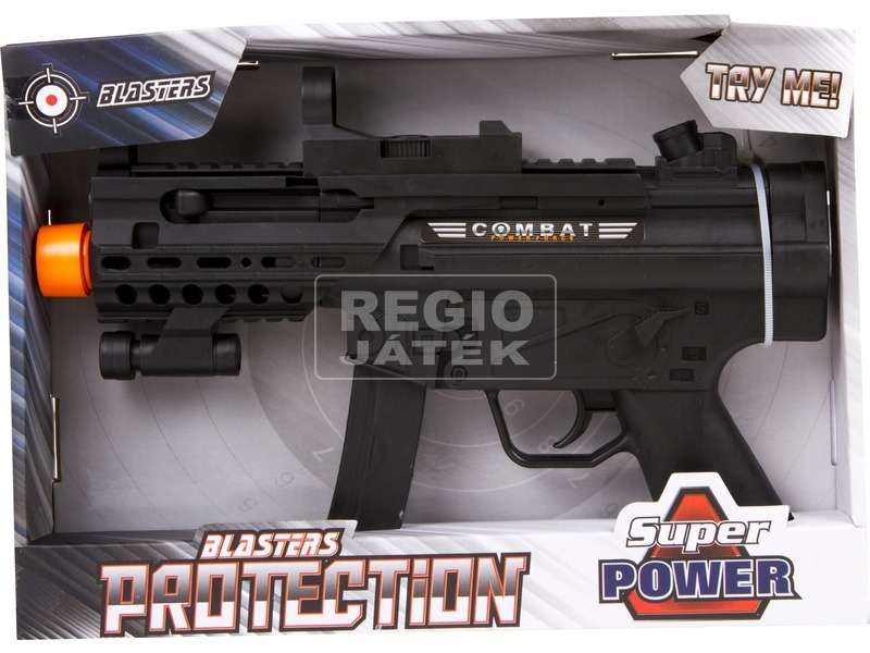 c6c1d99c188d REGIO Játék   Combat elemes géppisztoly hanggal - 28 cm
