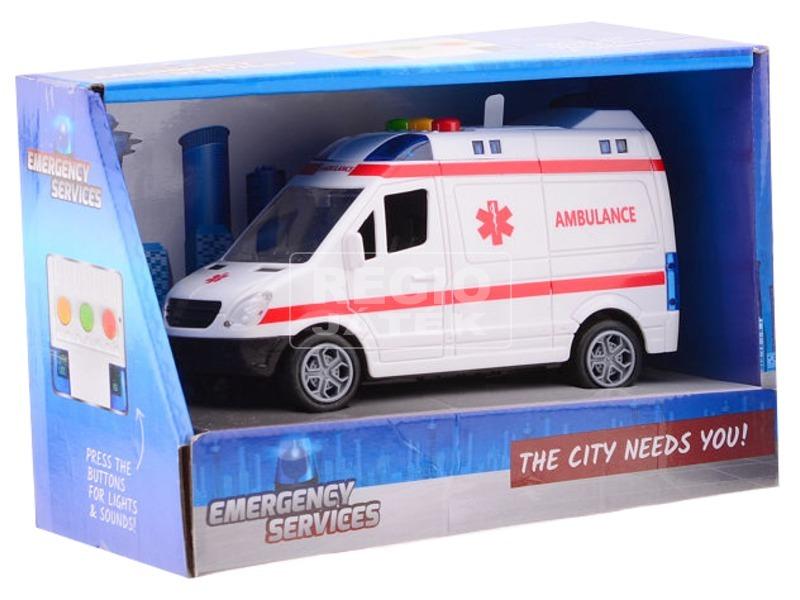 kép nagyítása Rendőrautó és mentőautó