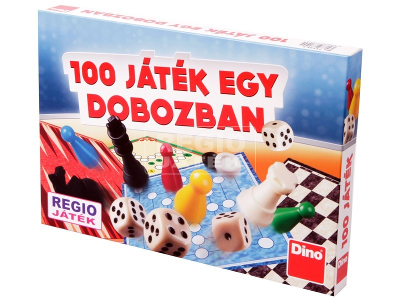 Társasjáték - 100 játék egy dobozban
