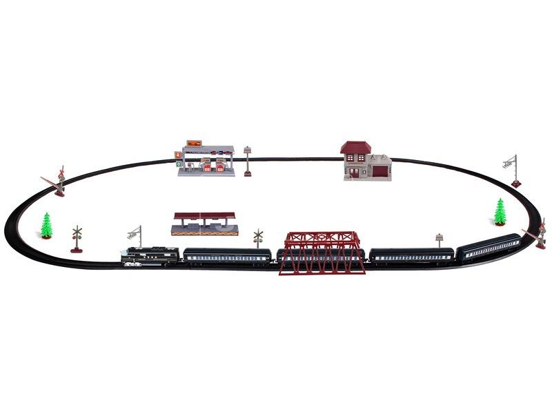 kép nagyítása Train Orbit nagy modellvasút készlet gőzmozdonnyal