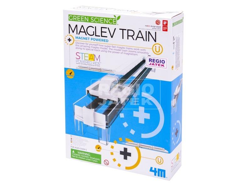 4M mágneses vonat készlet