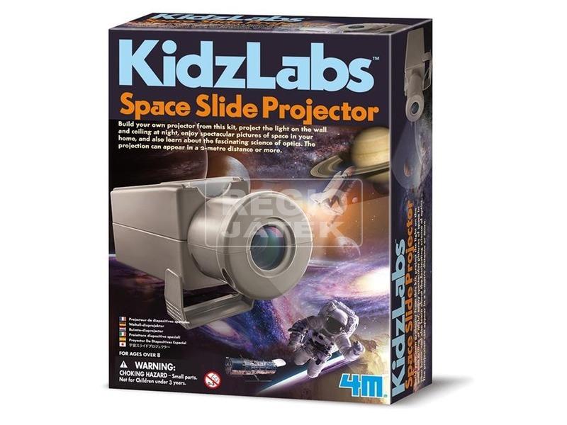 4M űr diafilm vetítő készlet