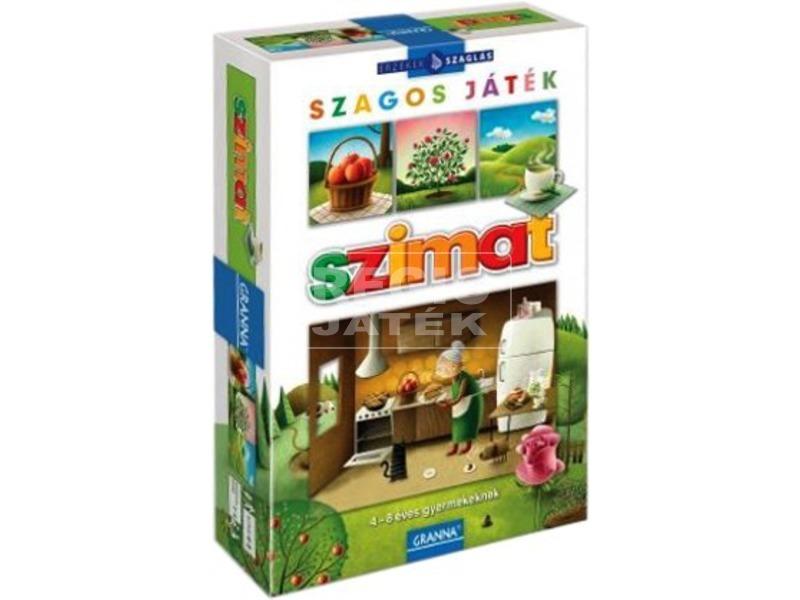 Granna: Szimat játék a szaglással készségfejlesztő játék