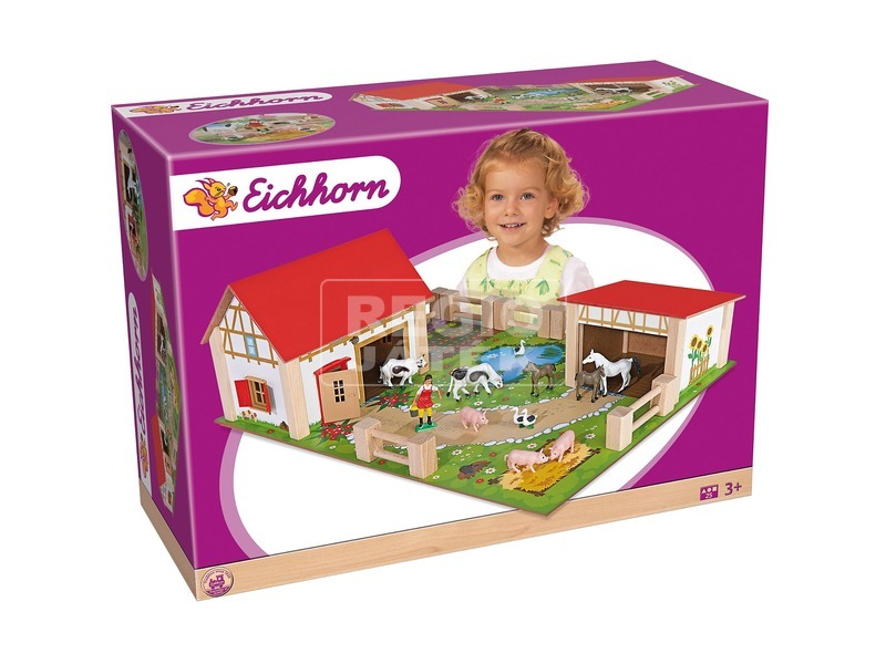 Eichhorn Farm játékkészlet